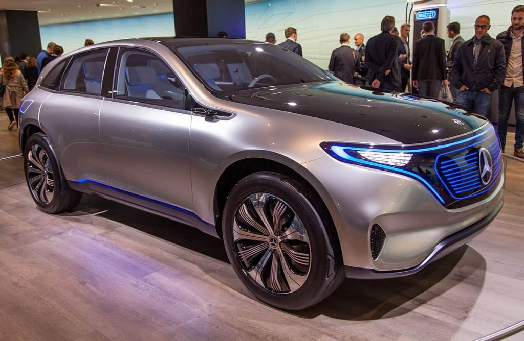 Mercedes EQC car