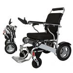 silla de ruedas electrica plegable