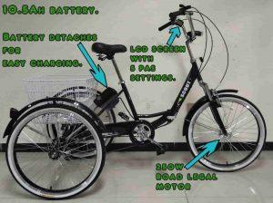 triciclo adultos electrico