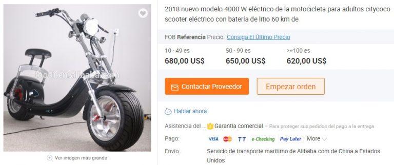 patinete electrico 4000W