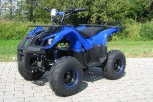 quad azul hummer