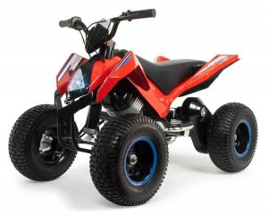 quad hunter electrico rojo