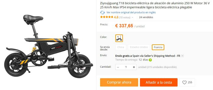 bicicleta barata china