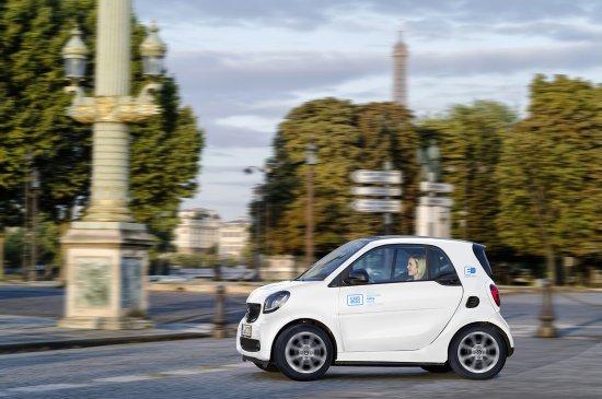 【Car2go llega a París 】