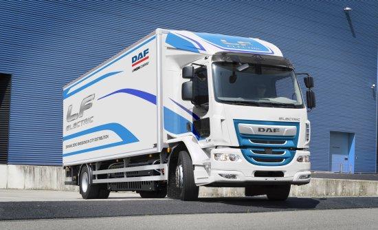 【Estos son los camiones eléctricos de DAF 】
