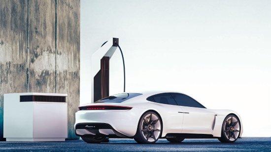 【Porsche viene con una solución modular de carga rápida 】