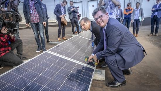 【Volvo instala 15.000 paneles solares en Bélgica】