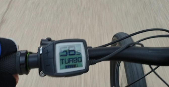 velocidad bicicleta bosch