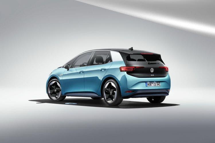 parte trasera Volkswagen ID3