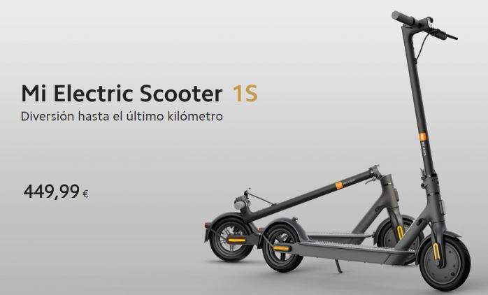 Xiaomi Mi electric scooter 1s precio