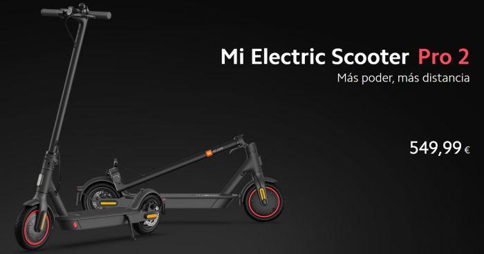 Xiaomi Mi electric scooter Pro2 precio